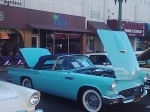 Classic Car in front of La Penca Azul
