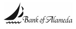 Bank of Alameda logo