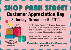Park Street Customer Appreciation