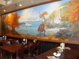 Monkey King Pub & Grub mural