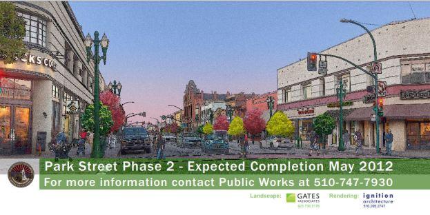 Park Street Streetscape Project