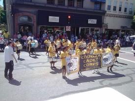 Cougar Cadet Corp, Alameda July 4 Parade
