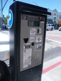 Parking Meter Kiosk on Park Street, Alameda