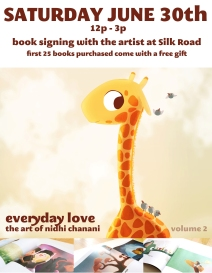 Nidhi Chanani booksigning at Silk Road