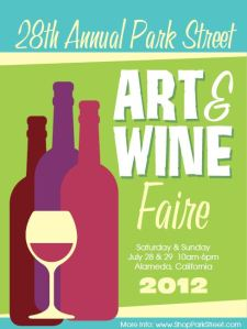 2012 Park Street Art & Wine Faire promo