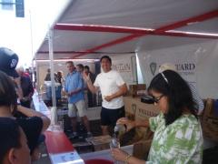 Park Street Art & Wine Faire 2012 volunteers