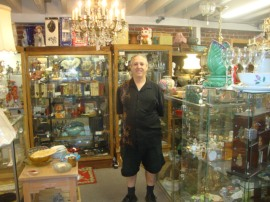 Park Street Antiques display cases