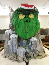 Grinch Mountain at We Are Hair, 1343 Park Street, Alameda