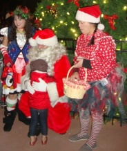 Santa Claus on Park Street, Alameda