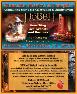 The Hobbitt at Alameda Theatre New Years Eve