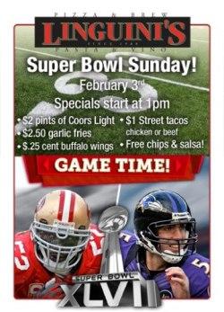 Linguini's, Alameda - Super Bowl 2013