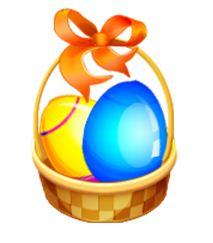 Easter Egg Hunt in the Park Street Business District, Alameda