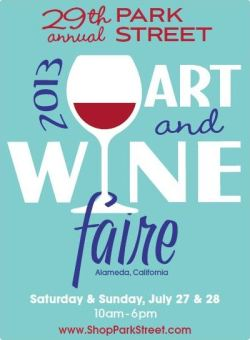 2013 Art & Wine Faire Poster