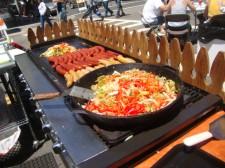 Food at Park Street Art & wine Faire, Alameda