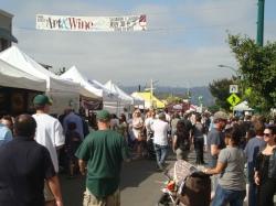 Park Street Art & Wine Faire, Alameda