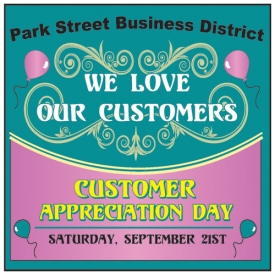 Customer Appreciation Day in Alameda's Park Street Business District