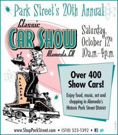 Park Street Classic Car Show 2013, Alameda