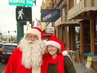 Santa on Park Street, Alameda