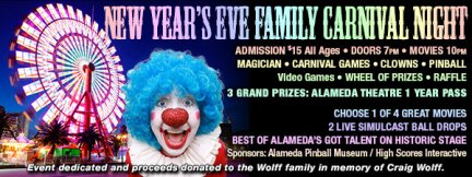 New Year's Eve 2014 at the Alameda Theatre
