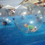 WaterBall at street fair in Alameda