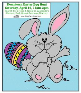 Downtown Easter Egg Hunt, Park Street Alameda 2014