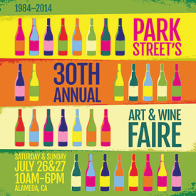 Park Street Art & Wine Faire 2014