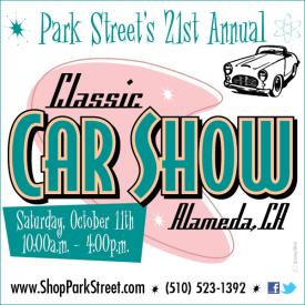 Park Street Classic Car Show, Alameda 2014
