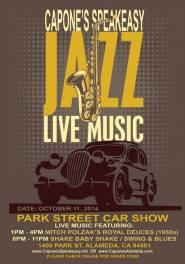 Capone's Speakeasy Alameda music show