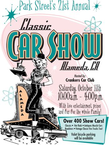 Park Street Classic Car Show Alameda 2014