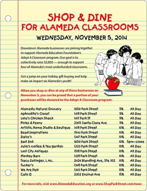Shop For Alameda Adopt A Classrooms