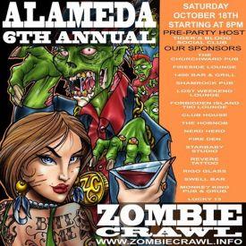 Alameda Zombie Crawl 2014
