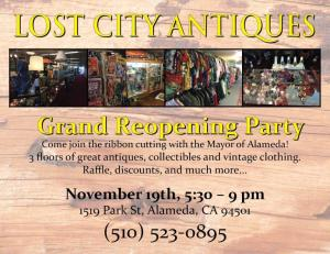 Lost City Antiques, Alameda