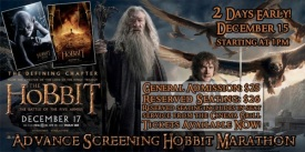 Hobbit 3 at Alameda Theatre