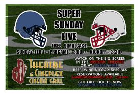 Super Bowl at Alameda Theatre