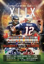 Super Bowl specials at Churchward Alameda