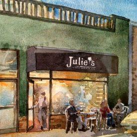 Julie's Coffee & Tea Garden, Alameda
