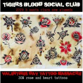 Tigers Blood Social Club and Tattoos, Alameda
