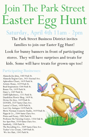 Downtown Alameda Easter Egg Hunt