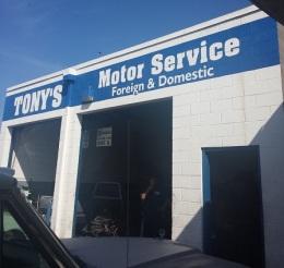 Tony's Moter Service, Alameda