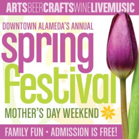 Downtown Alameda Spring Festival 2015