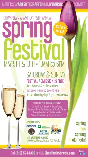 Downtown Alameda Spring Festival 2015