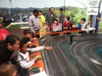 Slot Cars at Subpar Miniature Golf, Alameda