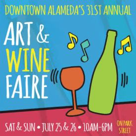 Downtown Alameda Art & Wine Faire 2015
