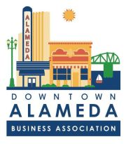 Downtown Alameda Business Association logo