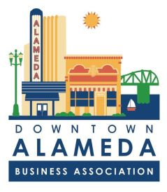 Downtown Alameda Business Association logo