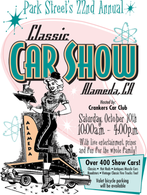 2015 Downtown Alameda Classic Car Show