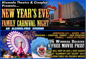 New Years Eve 2015 at Alameda Theatre