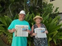 Frank and Debbie George, owners Bonne Vie Alameda