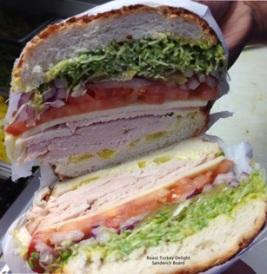 Sandwich Board Alameda Turkey Sandwich