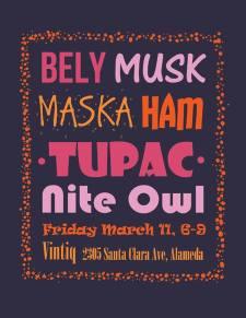 Vintiq 2nd Friday Art Walk March 11